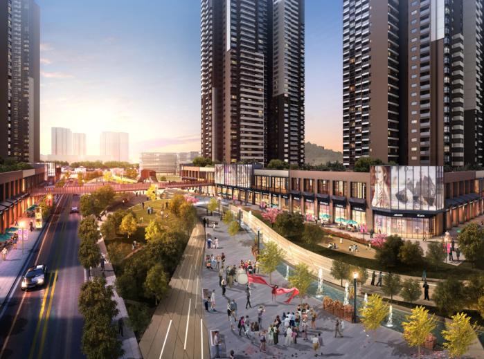 保达五联城市更新综合住区规划设计文本2016-效果图4