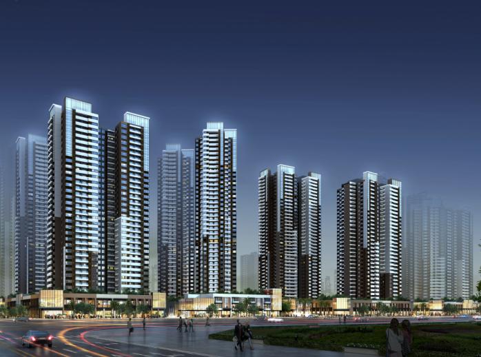 保达五联城市更新综合住区规划设计文本2016-效果图5