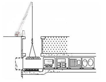 隧道开挖盾构施工方案-吊装