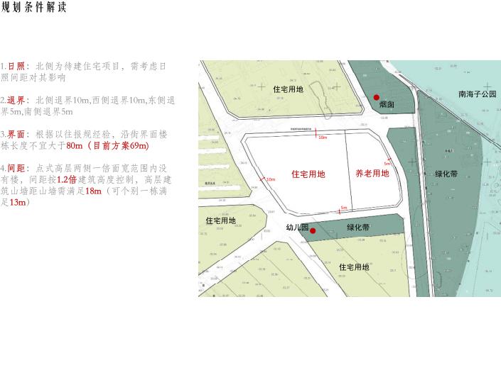 [北京]旧宫镇低密度公园豪宅社区方案文本-规划条件解读