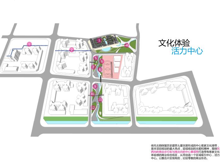 保达五联城市更新综合住区规划设计文本2016-商业景观设计