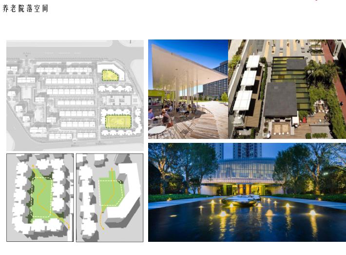 [北京]旧宫镇低密度公园豪宅社区方案文本-养老院落空间