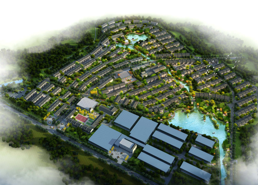 湖北天门社区修建性详细规划及建筑方案设计