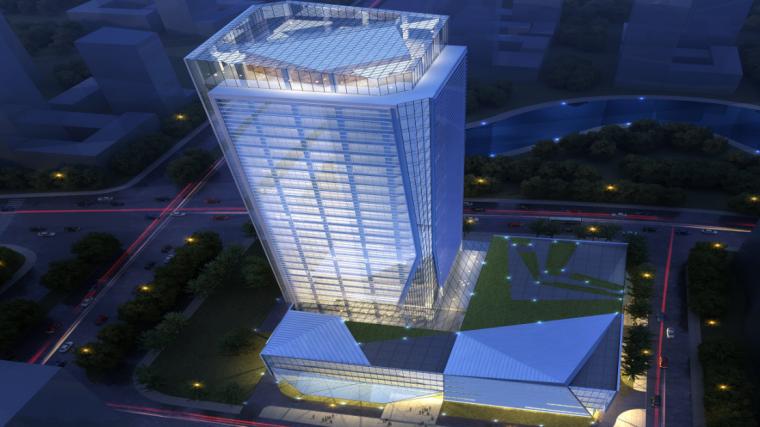 24层框架核心筒结构办公楼地基钎探施工方案-01 地基钎探施工方案