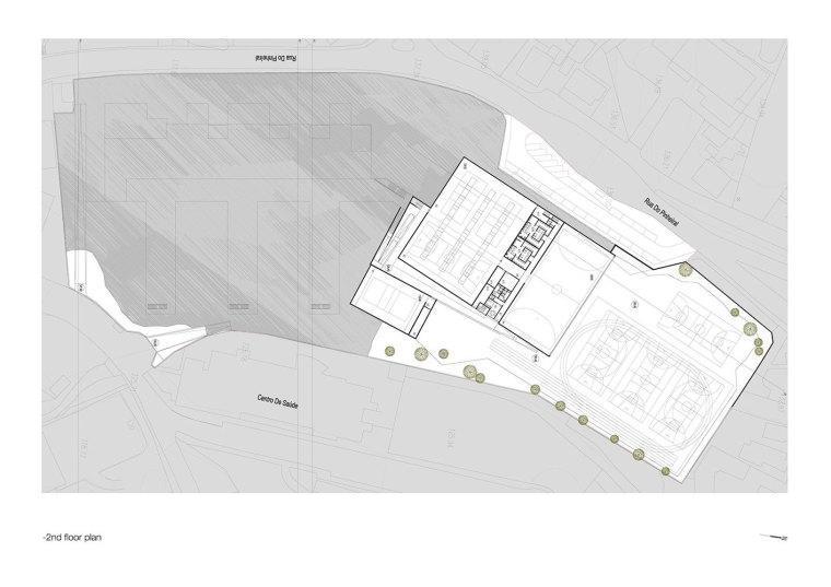 葡萄牙EB2/3Tai仔学校-葡萄牙EB 23 Tai仔学校平面图 (1)