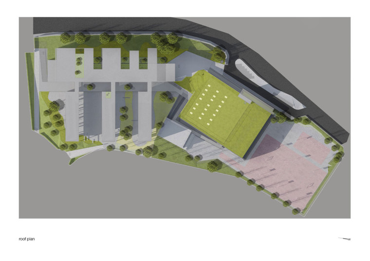 葡萄牙EB2/3Tai仔学校-葡萄牙EB 23 Tai仔学校平面图 (2)
