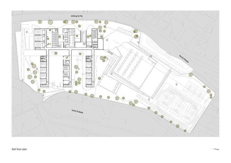 葡萄牙EB2/3Tai仔学校-葡萄牙EB 23 Tai仔学校平面图 (3)