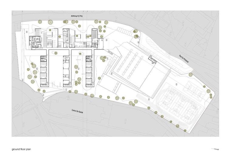 葡萄牙EB2/3Tai仔学校-葡萄牙EB 23 Tai仔学校平面图 (4)