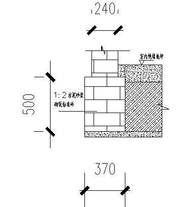 砌体工程施工方案-配电房基础大样图