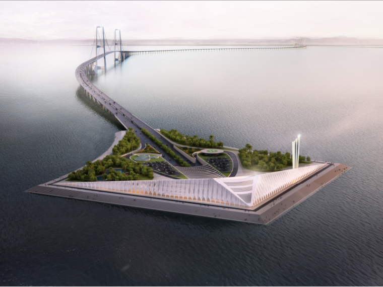 深中通道工程方案及技术创新概述-丹麦COWI公司