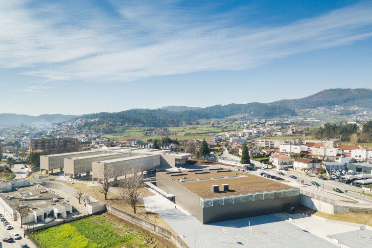 葡萄牙EB2/3Tai仔学校-葡萄牙EB 23 Tai仔学校外部实景图 (14)