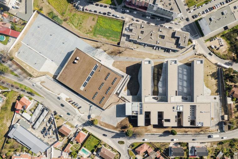 葡萄牙EB2/3Tai仔学校-葡萄牙EB 23 Tai仔学校外部实景图 (17)