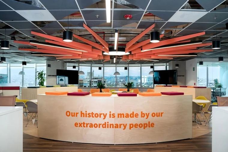 剑桥大学出版社墨西哥城办公室室内实景图 (2)