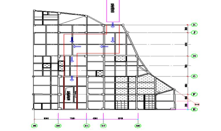 高压氧舱安装施工方案-04 拖运区域