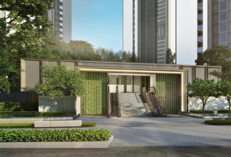 现代风格顶级豪宅景观设计方案+CAD总平图-效果图