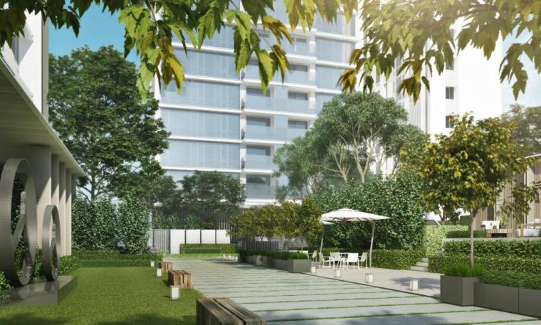 现代风格顶级豪宅景观设计方案+CAD总平图-效果图2