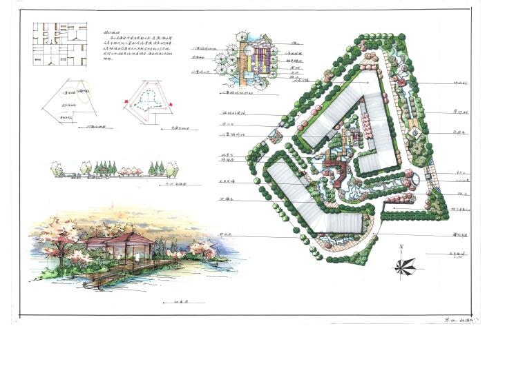 景观快题500例-好的快题方案、好的平面设计-快题设计 (20)