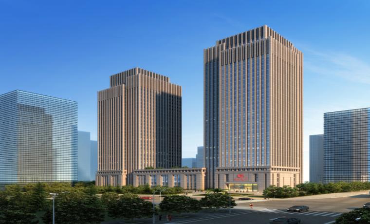 36层框架核心筒商务楼塔吊防碰撞施工方案-01