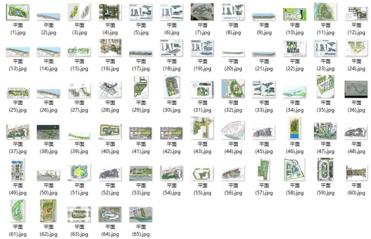 景观快题500例-好的快题方案、好的平面设计-5-优秀案例平面