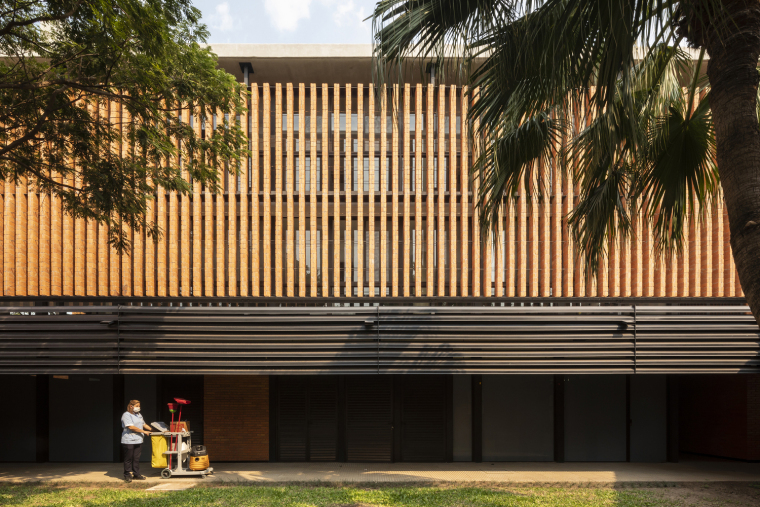 巴拉圭ASA蒸汽学校外部实景图8
