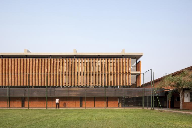 巴拉圭ASA蒸汽学校外部实景图20