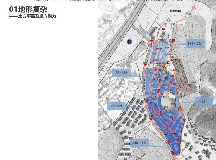 江西明月山月圆缘景区文旅景观规划设计报奖-地形复杂