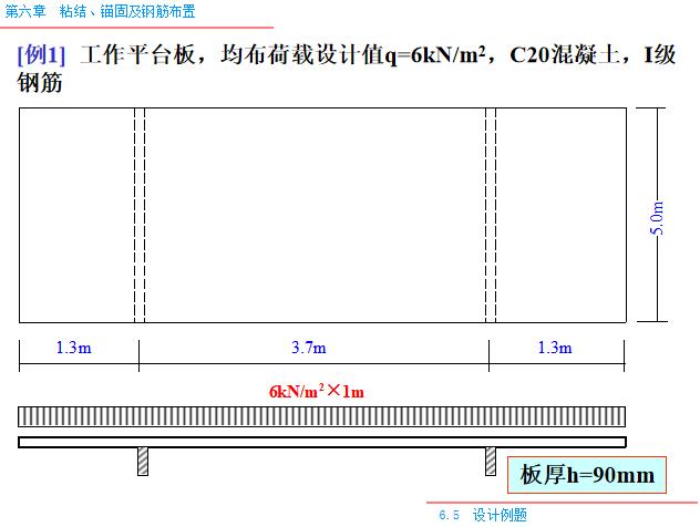 粘结_锚固及钢筋布置PPT(80页)-设计例题