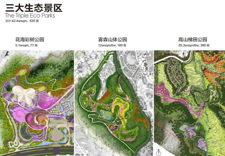 江西明月山月圆缘景区文旅景观规划设计报奖-生态景观区