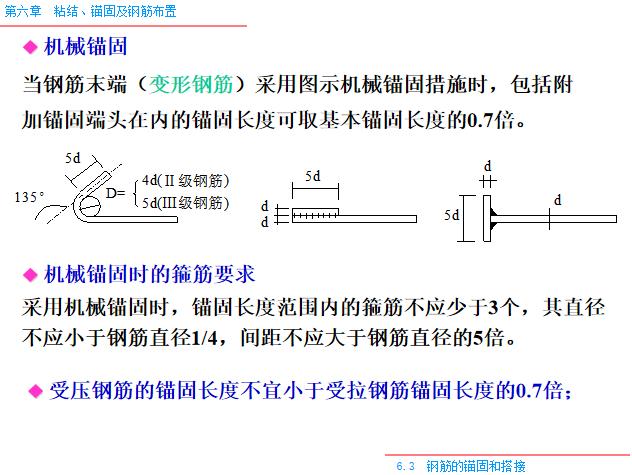 粘结_锚固及钢筋布置PPT(80页)-机械锚固