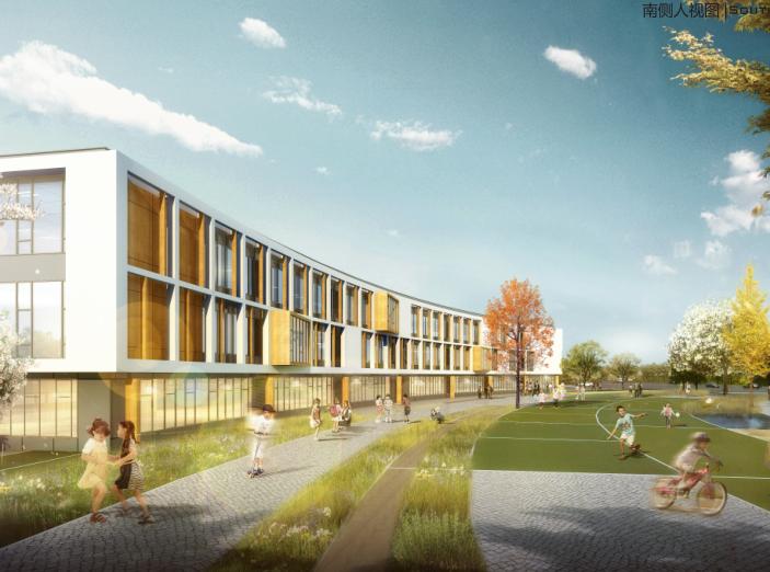 知名地产张马片区18班幼儿园设计方案2019-效果图1