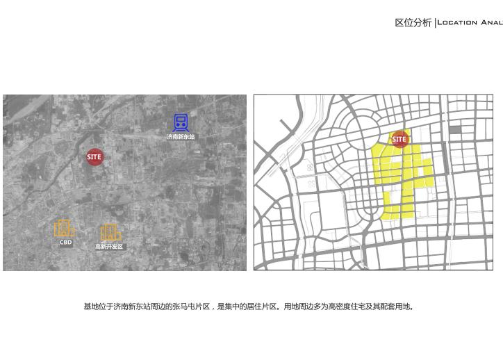 知名地产张马片区18班幼儿园设计方案2019-区位分析
