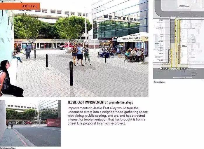 多重手法构建街道景观,附40条相关精品方案_56