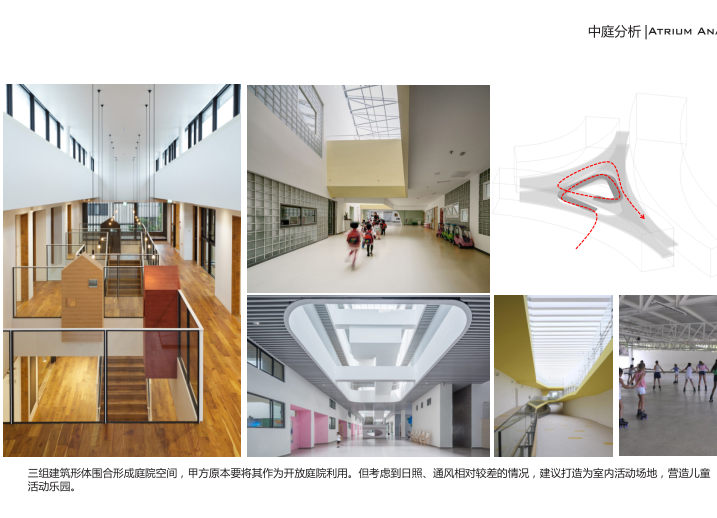 知名地产张马片区18班幼儿园设计方案2019-中庭分析