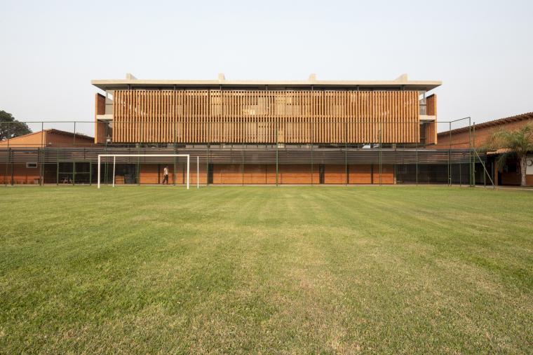 巴拉圭ASA蒸汽学校外部实景图2