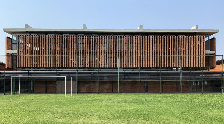 巴拉圭ASA蒸汽学校外部实景图5
