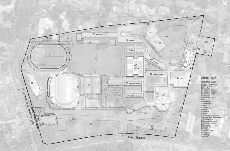 巴拉圭ASA蒸汽学校平面图4