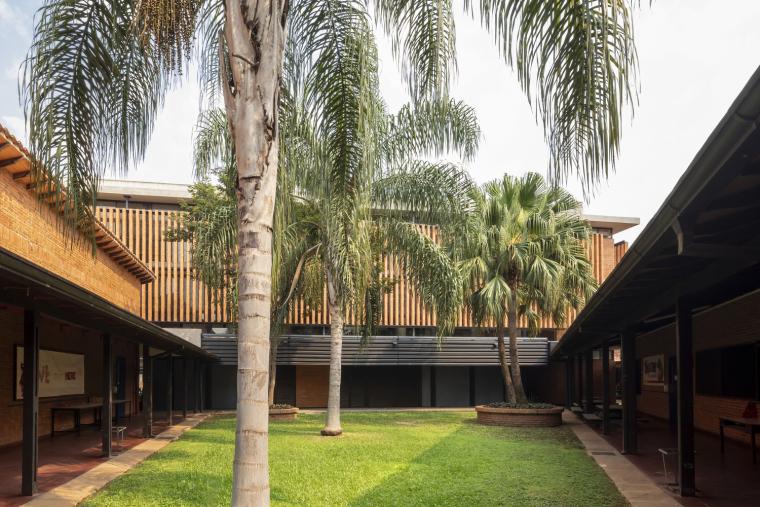 巴拉圭ASA蒸汽学校外部实景图6