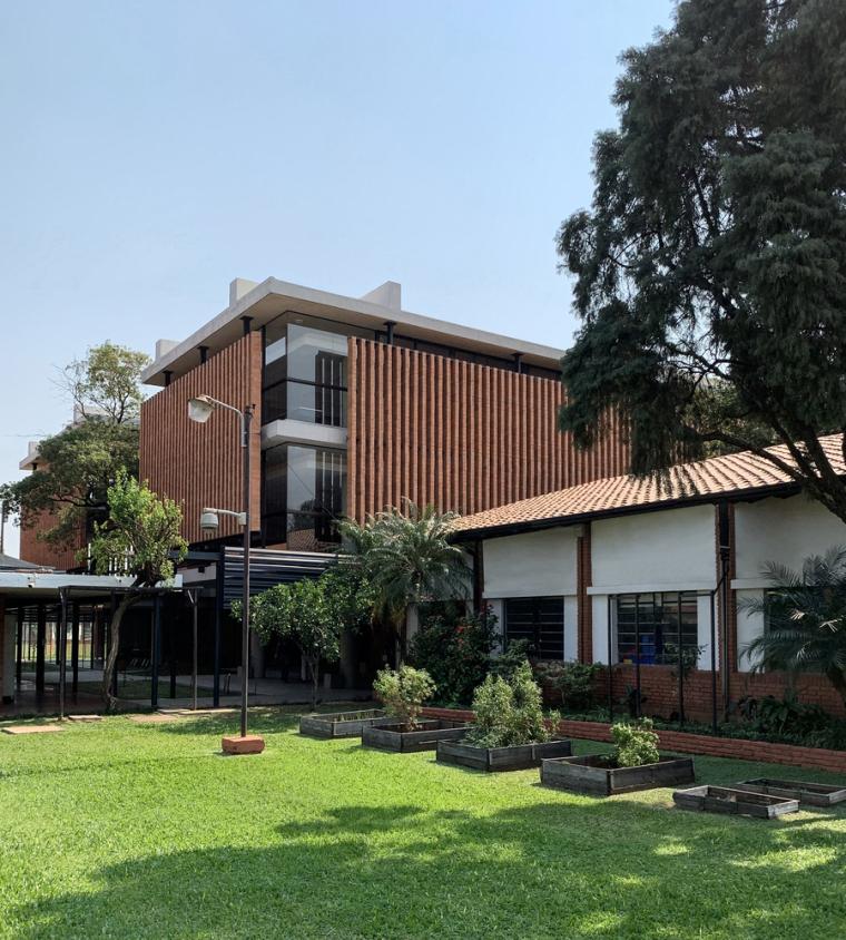 巴拉圭ASA蒸汽学校外部实景图14