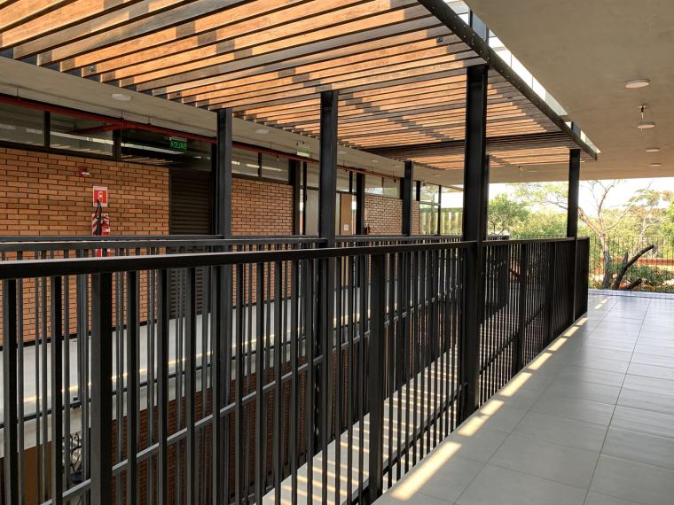 巴拉圭ASA蒸汽学校局部实景图