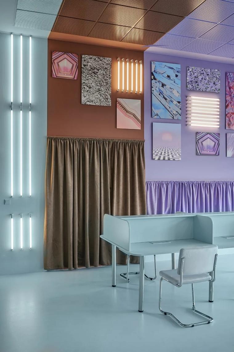 瓦伦西亚联合办公空间设计室内实景图 (1)