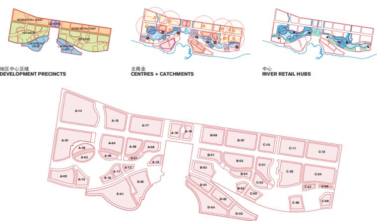 江苏常州西太湖生态休闲区核心片区城市景观-规划地块