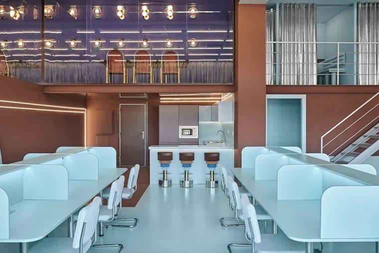 瓦伦西亚联合办公空间设计室内实景图 (2)