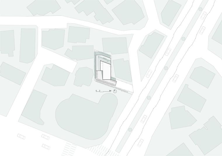 韩国Nowon女子教育中心平面图2