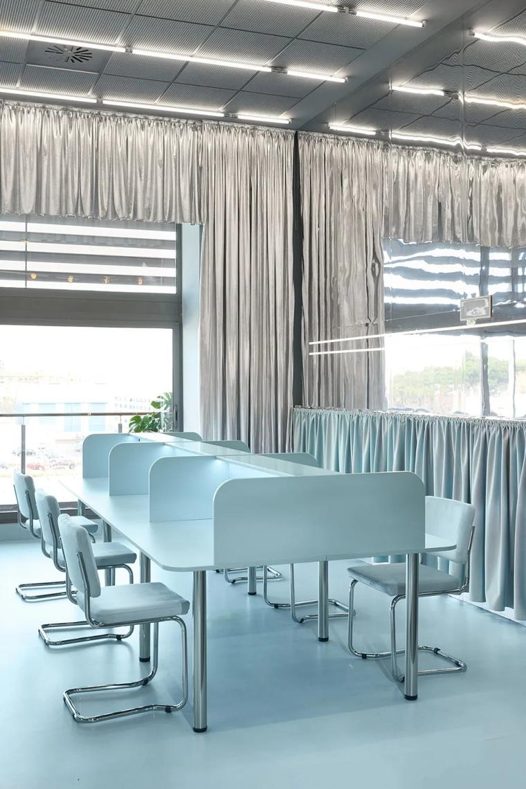 瓦伦西亚联合办公空间设计室内实景图 (9)