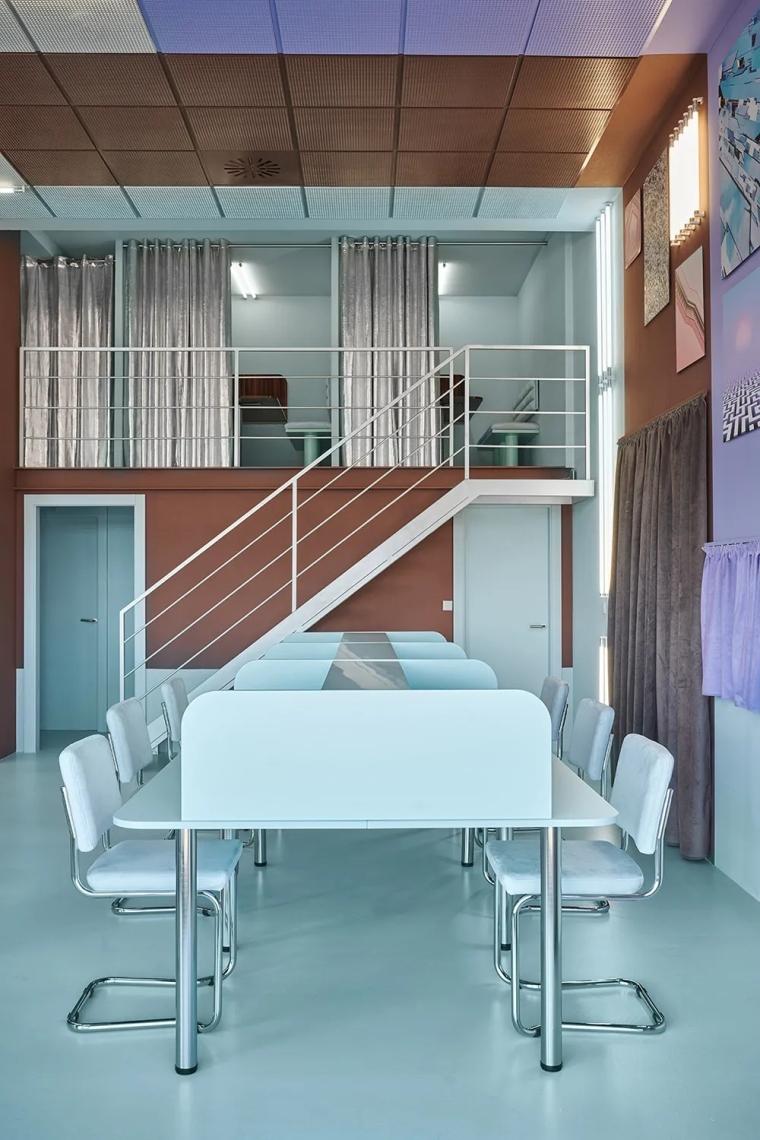 瓦伦西亚联合办公空间设计室内实景图 (8)