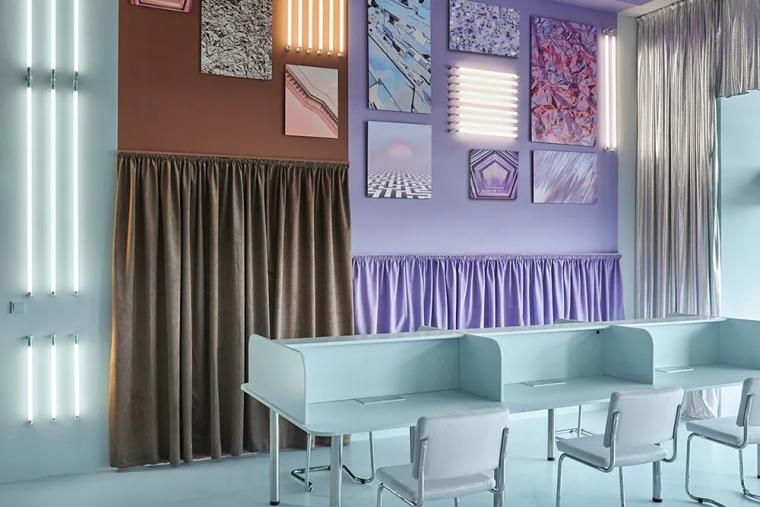 瓦伦西亚联合办公空间设计室内实景图 (10)