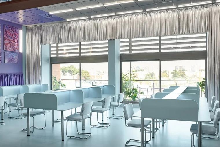瓦伦西亚联合办公空间设计室内实景图 (11)