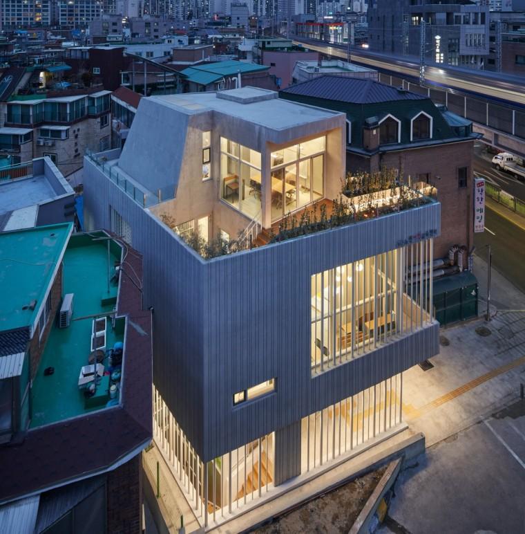 韩国Nowon女子教育中心外部实景图
