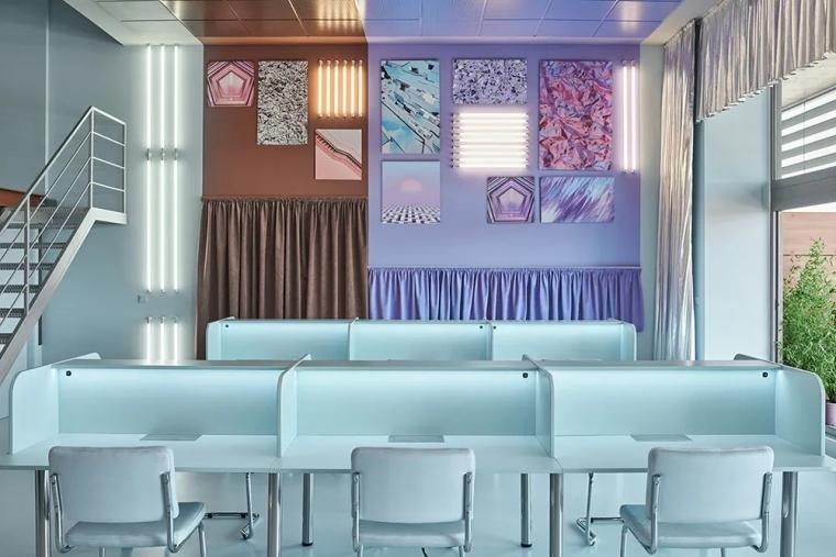 瓦伦西亚联合办公空间设计室内实景图 (12)