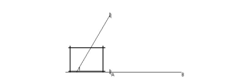 32层框剪结构住宅工字钢悬挑脚手架施工方案-06 悬挑脚手架示意图